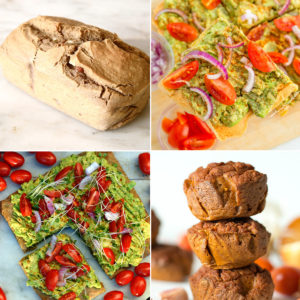 easy to make gluten free bread recipes. all are vegan and free of dairy and eggs.