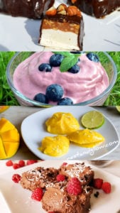 6 Easy and Healthy Vegan Ice Cream recipes. All these recipes are easy to make and full of goodness #vegan #healthy #dessert