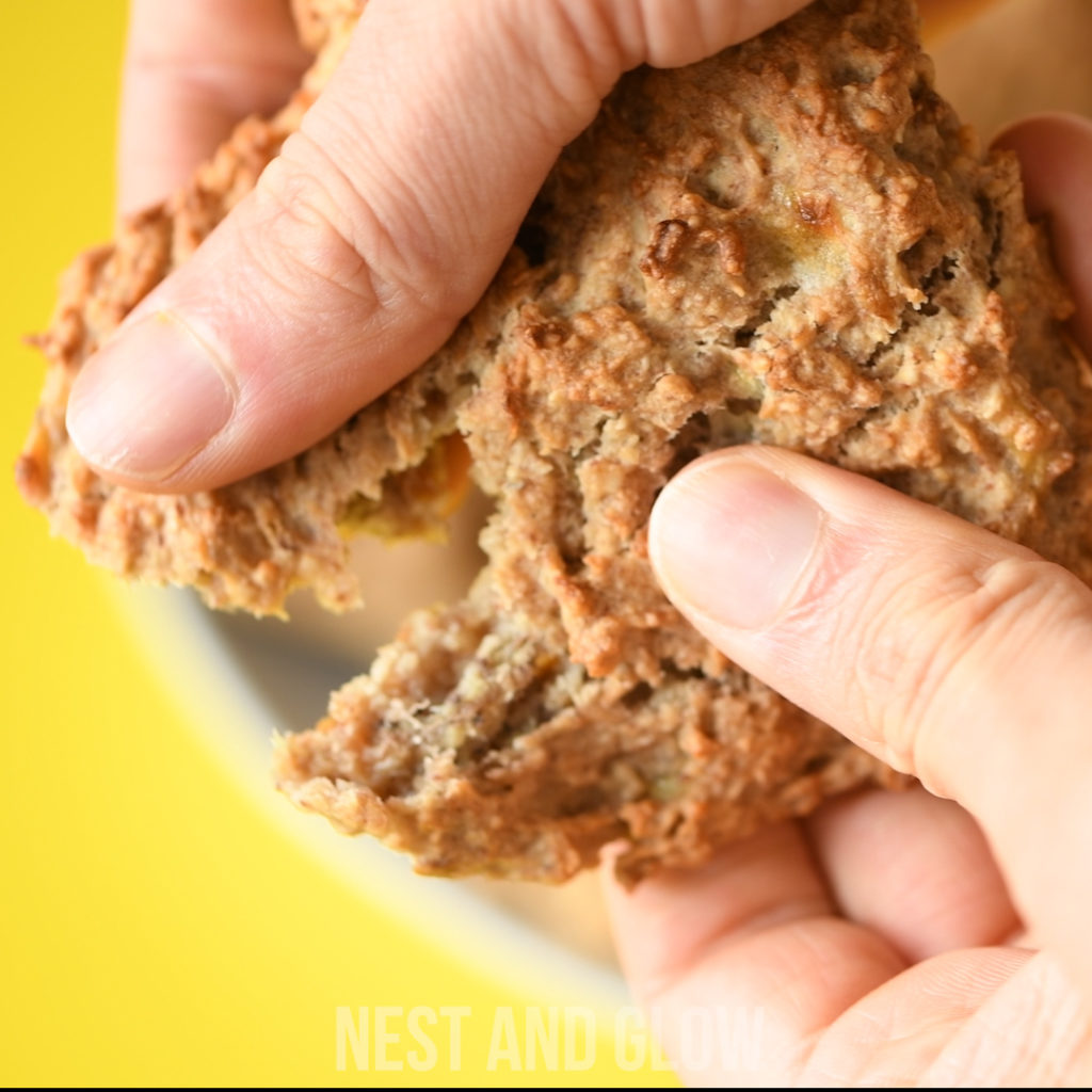 These healthy peanut butter cookies have a great texture despite being free of dairy, wheat and eggs.