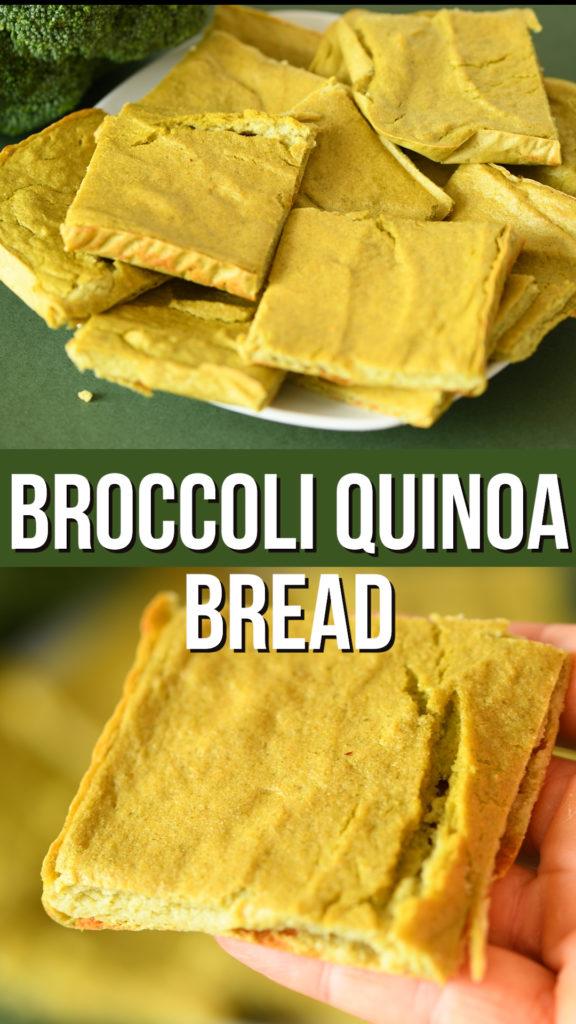 Quinoa Broccoli Bread Nest And Glow