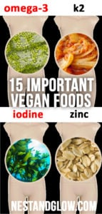 15 important vegan foods