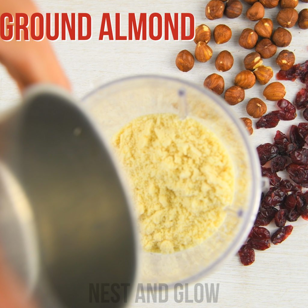 ground skinned almonds that are almond flour
