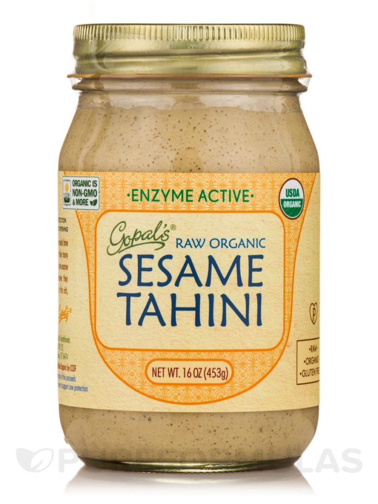 raw organic tahini