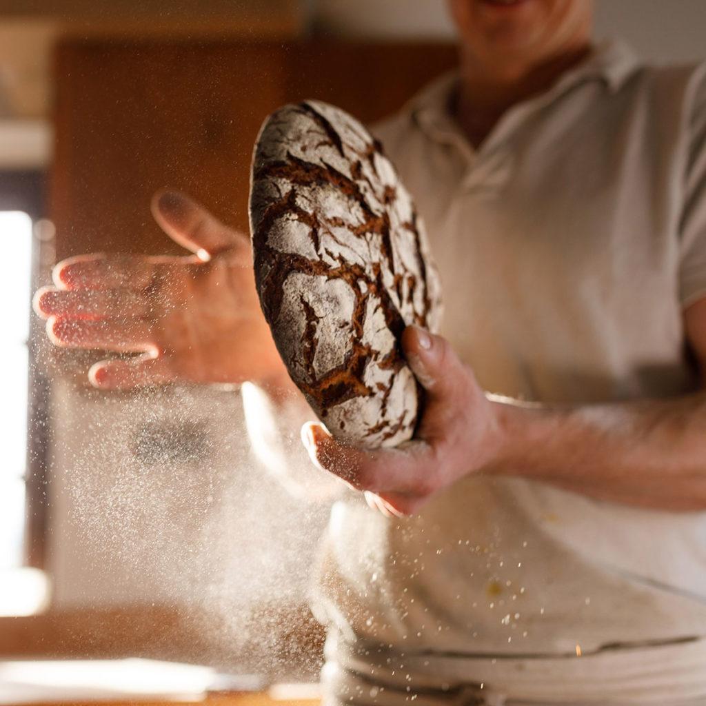 hand made sourdough