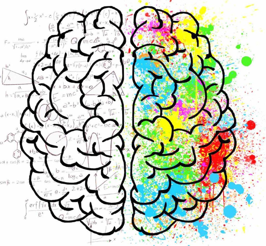 creative left side brain