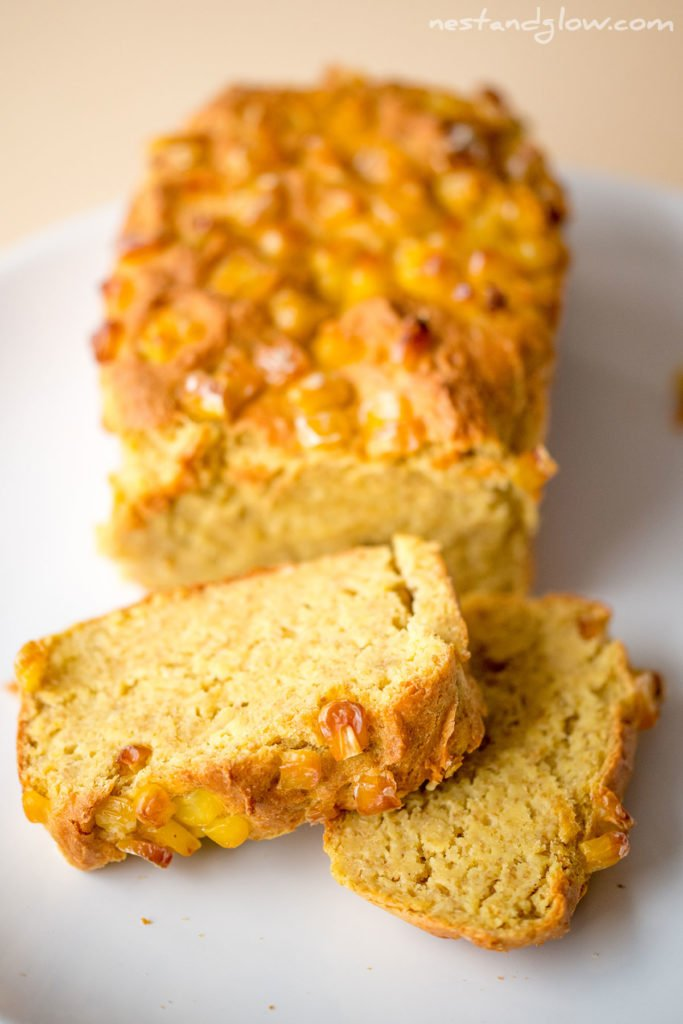 easy healthy gluten free cornbread recipe that's free of wheat and very easy to make