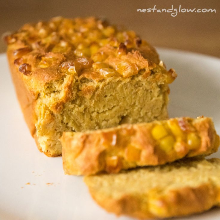3 Ingredient Gluten Free Cornbread - High Protein